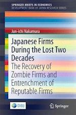 Japanese Firms During the Lost Two Decades (Springer Briefs in Economics)