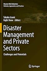 Disaster Management and Private Sectors (Disaster Risk Reduction)