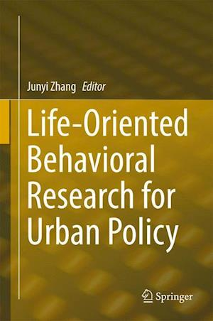 Bog, hardback Life-Oriented Behavioral Research for Urban Policy