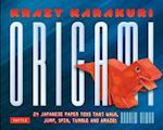 Krazy Karakuri Origami Toys Kit af Andrew Dewar