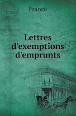 Lettres D'Exemptions D'Emprunts