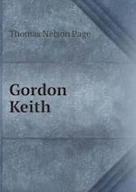 Gordon Keith af Thomas Nelson Page