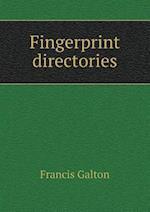 Fingerprint Directories af Francis Galton