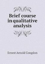 Brief Course in Qualitative Analysis