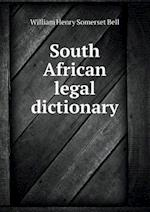 South African Legal Dictionary