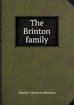 The Brinton Family af Daniel Garrison Brinton