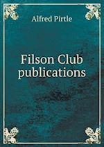 Filson Club publications