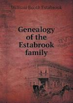 Genealogy of the Estabrook family af William Booth Estabrook