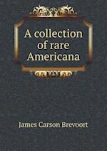A collection of rare Americana