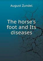 The horse's foot and Its diseases af A. Liautard, August Zundel