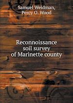 Reconnoissance Soil Survey of Marinette County af Samuel Weidman
