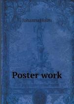 Poster Work af Johanna Holm