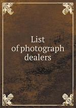List of photograph dealers