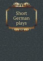 Short German plays