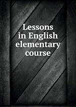 Lessons in English elementary course