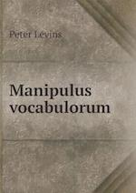 Manipulus Vocabulorum af Peter Levins, Henry B. Wheatley