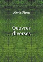 Oeuvres Diverses af Alexis Piron