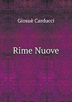 Rime Nuove af Giosue Carducci