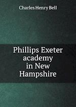 Phillips Exeter academy in New Hampshire