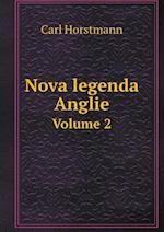 Nova Legenda Anglie Volume 2 af Carl Horstmann