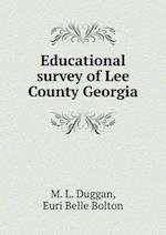 Educational survey of Lee County Georgia