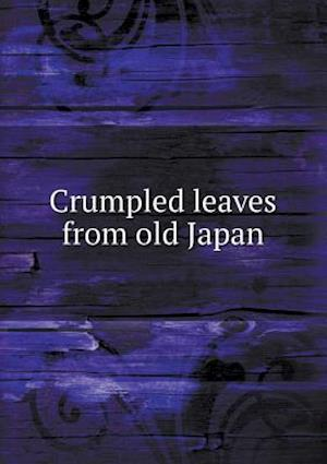 Crumpled leaves from old Japan