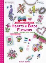 Cross Stitch Mini Motifs Hearts, Birds and Flowers