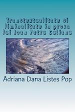 Transtextualitate Si Liminalitate in Proza Lui Ioan Petru Culianu