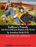 Gulliver's Travels af D.D Jonathan Swift