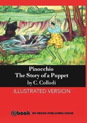 Bog, hæftet Pinocchio af C. Collodi