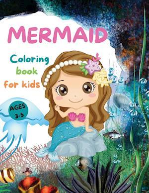 MERMAIDS  CUTE Coloring Book for Kids