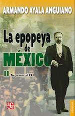 La epopeya de México, II af Armando Ayala Anguiano