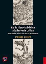 De la historia bíblica a la historia crítica
