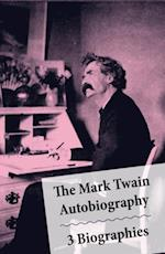Mark Twain Autobiography + 3 Biographies af William Dean Howells