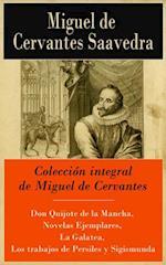 Coleccion integral de Miguel de Cervantes