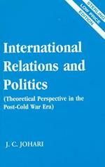 International Relations and Politics af J. C. Johari