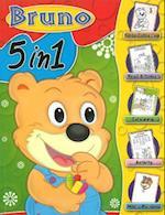 Bruno 5 in 1 af Sterling Publishers