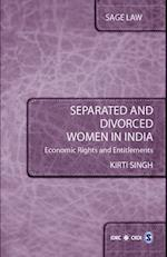 Separated and Divorced Women in India (Sage Law)