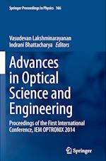 Advances in Optical Science and Engineering (Springer Proceedings in Physics Hardcover, nr. 166)