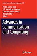 Advances in Communication and Computing (Lecture Notes in Electrical Engineering, nr. 347)