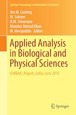Applied Analysis in Biological and Physical Sciences (Springer Proceedings in Mathematics and Statistics, nr. 186)