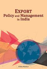 Export Policy & Management in India
