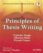 Principles of Thesis Writing