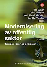 Modernisering av offentlig sektor : utfordringer, metoder og dilemmaer  (3.utg.)