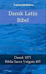 Dansk Latin Bibel af Author