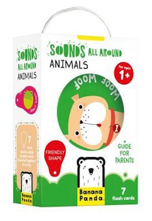 Sounds All Around Animals Age 1+ Flash Cards