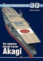 The Japanese Aircraft Carrier Akagi (Super Drawings in 3D, nr. 1604)