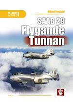 SAAB 29 Flygande Tunnan (Yellow)