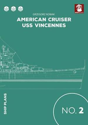 Bog paperback American Cruiser USS Vincennes af Grzegorz Nowak