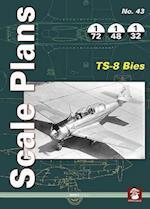 Scale Plans 43: PZL TS-8 Bies (Scale Plans, nr. 43)
